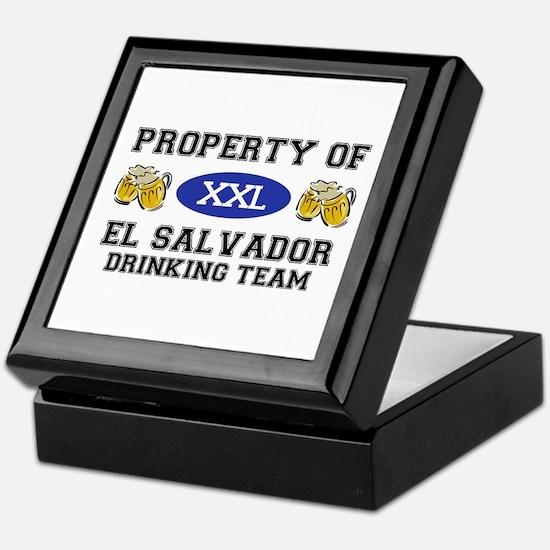 Property of El Salvador Drinking Team Keepsake Box