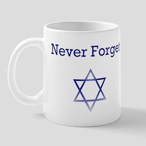 Holocaust Remembrance Star of David Mug