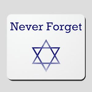 Holocaust Remembrance Star of David Mousepad