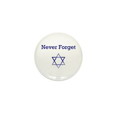 Holocaust Remembrance Star of David Mini Button (1