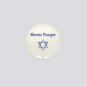 Holocaust Remembrance Star of David Mini Button