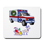EMS Happy Holidays Greetings Mousepad
