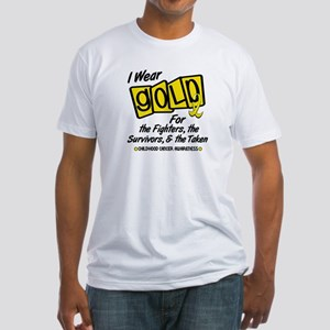 I Wear Gold For Fighters Survivors Taken 8 Fitted