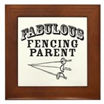 Fab Fencing Parent Framed Tile