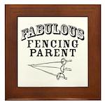 Fab Fencing Parent Framed Tile