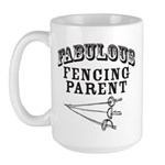 Fab Fencing Parent Large Mug