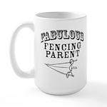 Fab Fencing Parent Large Mug