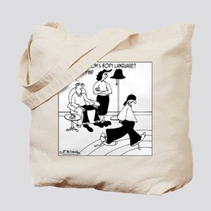 Body Language With No Body? Tote Bag