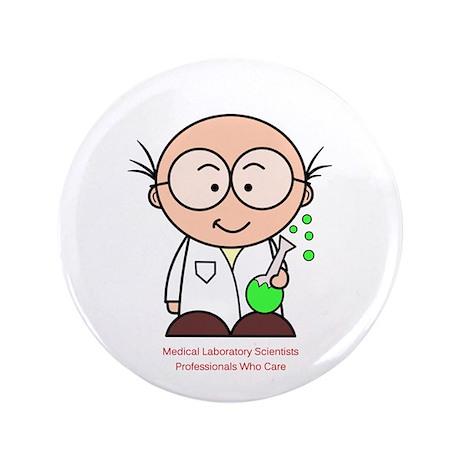 """Medical Scientist 3.5"""" Button"""