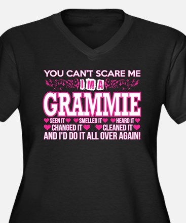You Cant Scare Me Im Grammie Do Plus Size T-Shirt