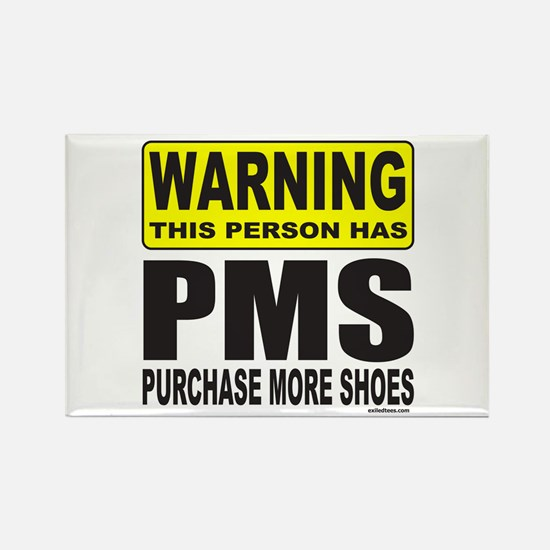 PURCHASE MORE SHOES Rectangle Magnet