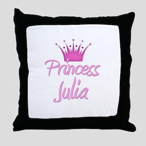 Princess Julia Throw Pillow