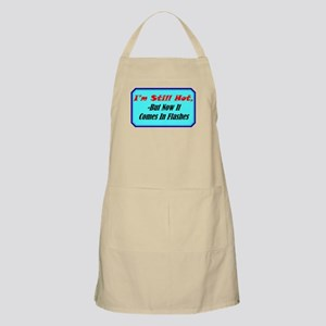 """Hot Flashes"" BBQ Apron"