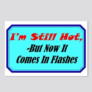 """Hot Flashes"" Postcards (Package of 8)"