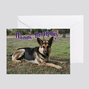 Shepherd Happy Birthday Greeting Card