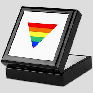 rainbow triangle Keepsake Box
