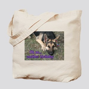 Shepherd Another Birthday Tote Bag