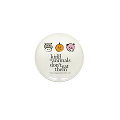 Mini Button (10 pack - Orange Chick)
