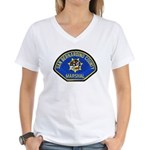 San Bernardino Marshal Women's V-Neck T-Shirt