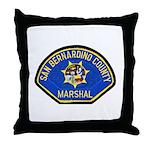 San Bernardino Marshal Throw Pillow