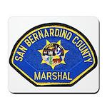 San Bernardino Marshal Mousepad