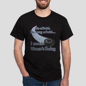 I Coach Women's Hockey Dark T-Shirt