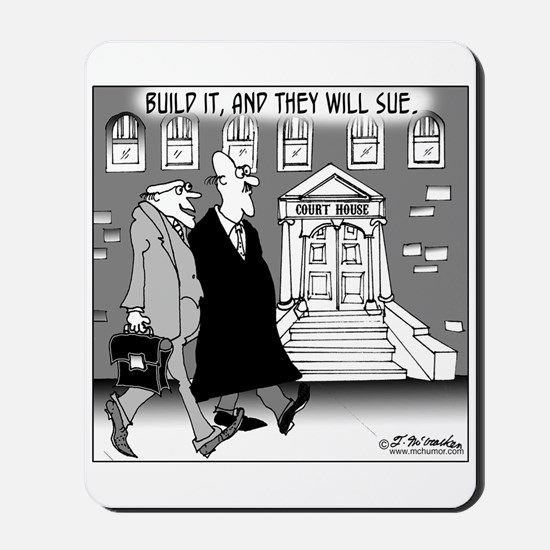 Build It & They'll Sue Mousepad