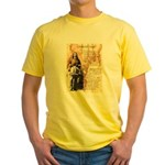 Wild Bill Hickock Yellow T-Shirt