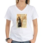 Wild Bill Hickock Women's V-Neck T-Shirt