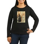 Wild Bill Hickock Women's Long Sleeve Dark T-Shirt