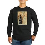 Wild Bill Hickock Long Sleeve Dark T-Shirt