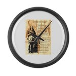 Wild Bill Hickock Large Wall Clock