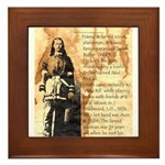 Wild Bill Hickock Framed Tile