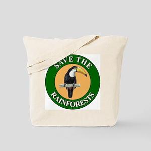 Save Rainforests Tote Bag
