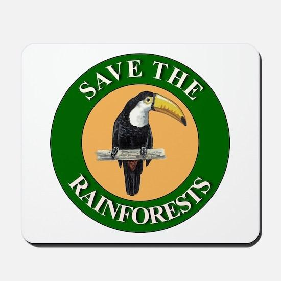 Save Rainforests Mousepad