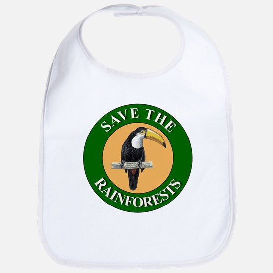 Save Rainforests Bib