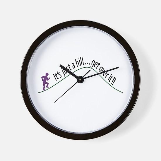 Get Over It (Running) Wall Clock