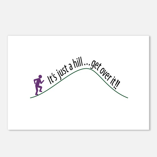 Get Over It (Running) Postcards (Package of 8)