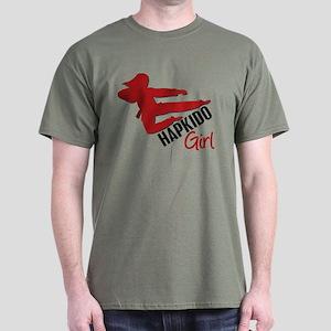 Hapkido Girl Dark T-Shirt
