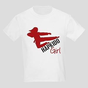 Hapkido Girl Kids Light T-Shirt
