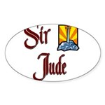 product name Oval Sticker (10 pk)