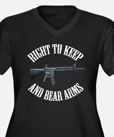 Right To Keep And Bear Arms A Women's Plus Size V-