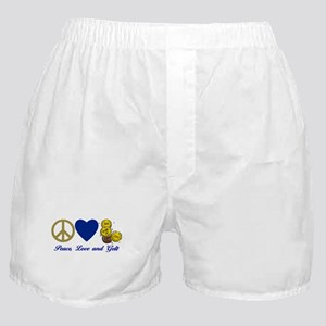 Peace, Love, Gelt 2 Boxer Shorts
