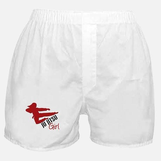 Ju Jitsu Girl Boxer Shorts