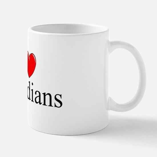 """I Love (Heart) Canadians"" Mug"