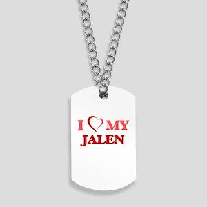 I love my Jalen Dog Tags