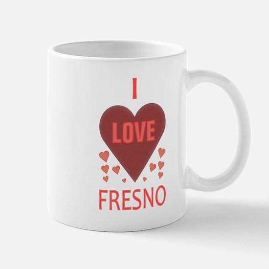 I Love Fresno Mug