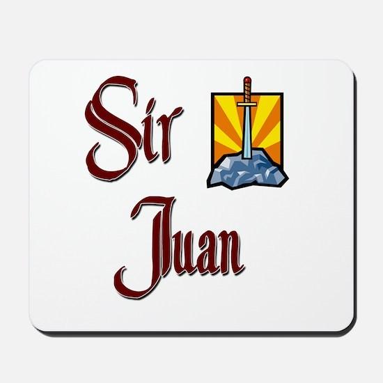 Sir Juan Mousepad