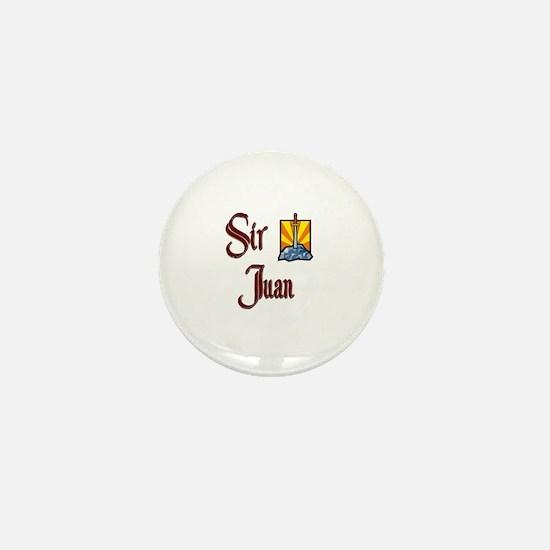 Sir Juan Mini Button