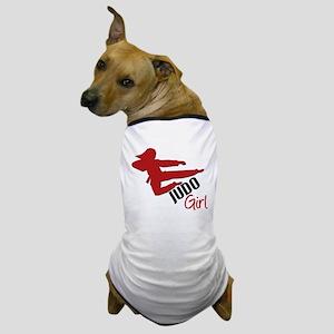 Judo Girl Dog T-Shirt